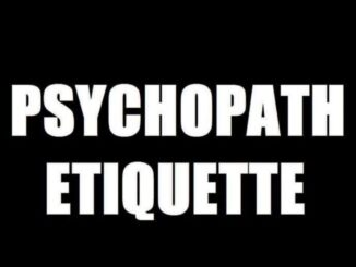 Psychopath Etiquette When Anxieties Attack