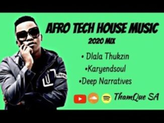 Dlala Thukzin, Karyendasoul, Deep Narratives AFRO Tech – House Music Mix