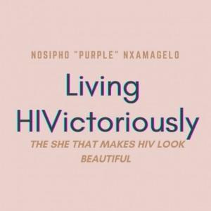 Noka - Living HIVictoriously Inspire Purple Nxamagelo
