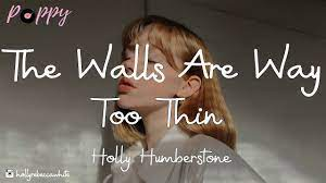 Holly Humberstone – The Walls Are Way Too Thin